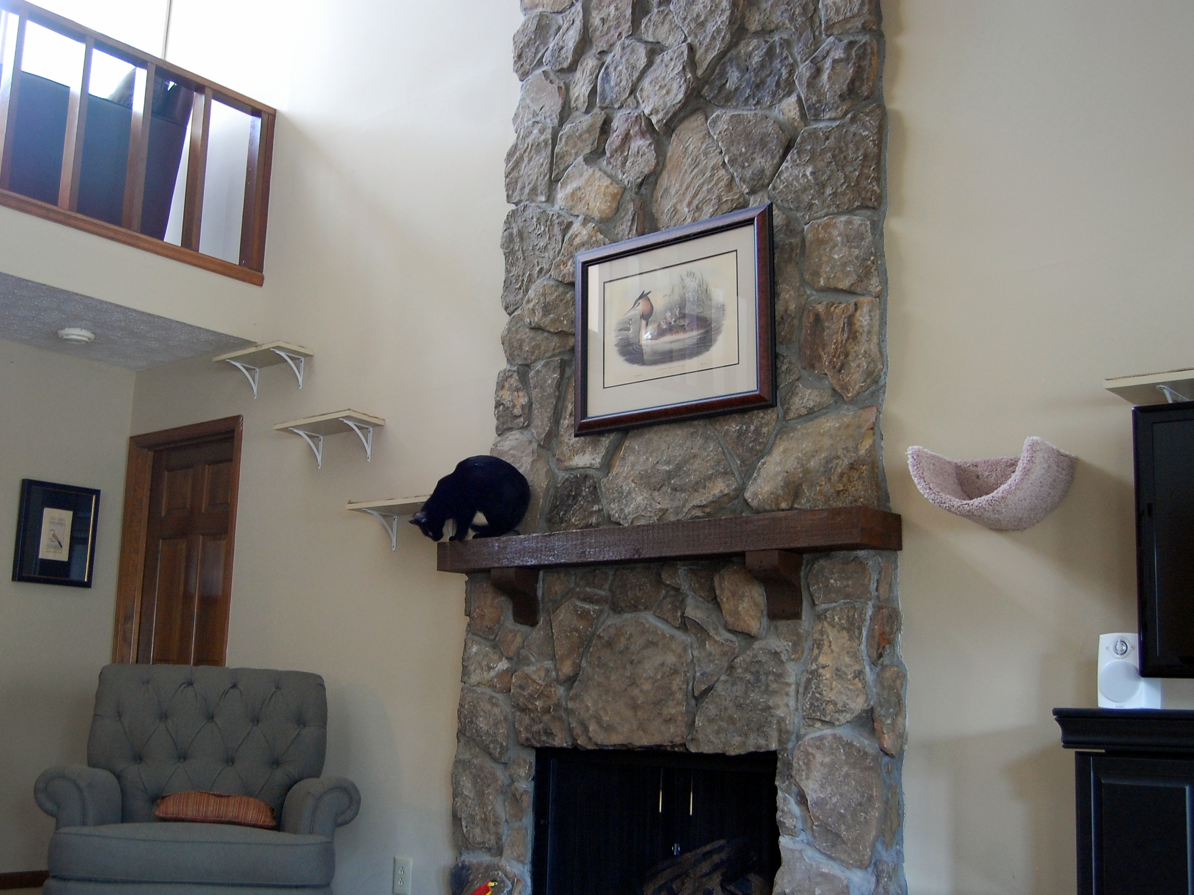 Per the clients request we utilized the mantle as part of our runs.