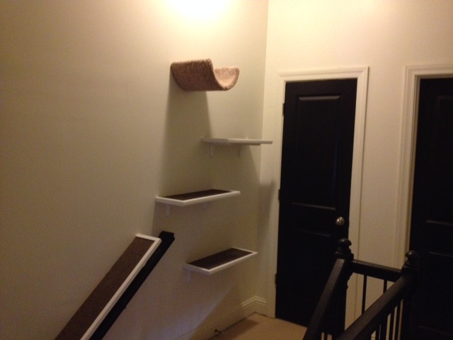 Top of the stairs after